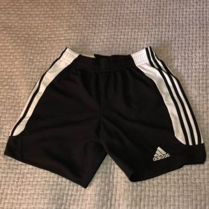 Men's Black Adidas Shorts Medium